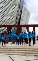 Crieff Guides visiting the Titanic Exhibition in Ireland